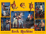 N.E.B. Rock Machine in concert